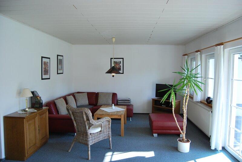 Top Appartment1/1***, 2-4 Pers., 70qm, 2 Schlafz., Terrasse, W-lan frei, Nichtr., location de vacances à Walkenried