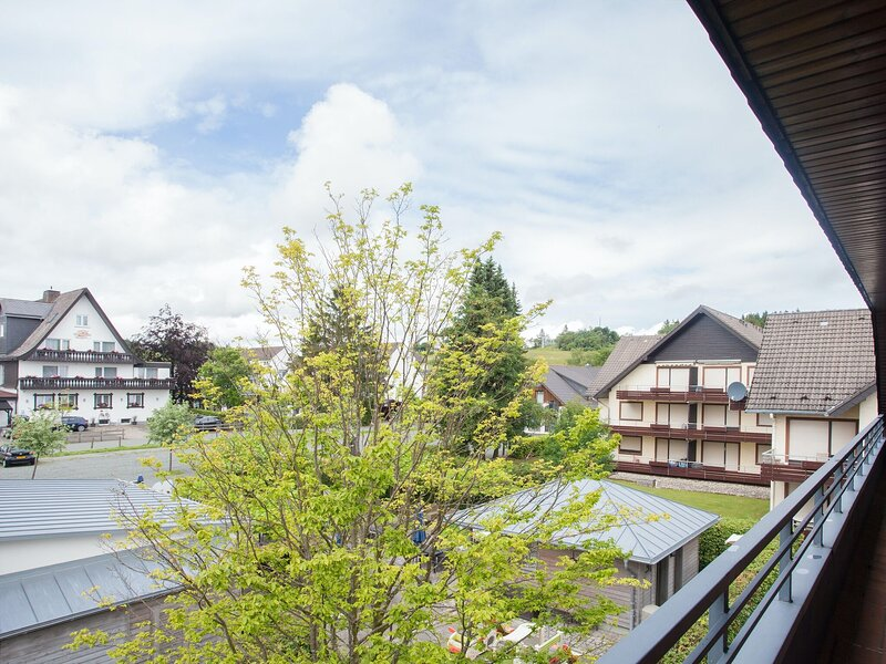 Nice flat with balcony in a perfect location at the ski lift carousel in Winterb, casa vacanza a Silbach