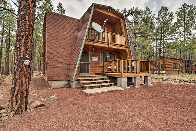 NEW! Rustic, Pet-Friendly Cabin Near Grand Canyon!, holiday rental in Red Valley