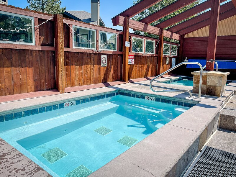 Pool and Hot Tubs Across The Street.