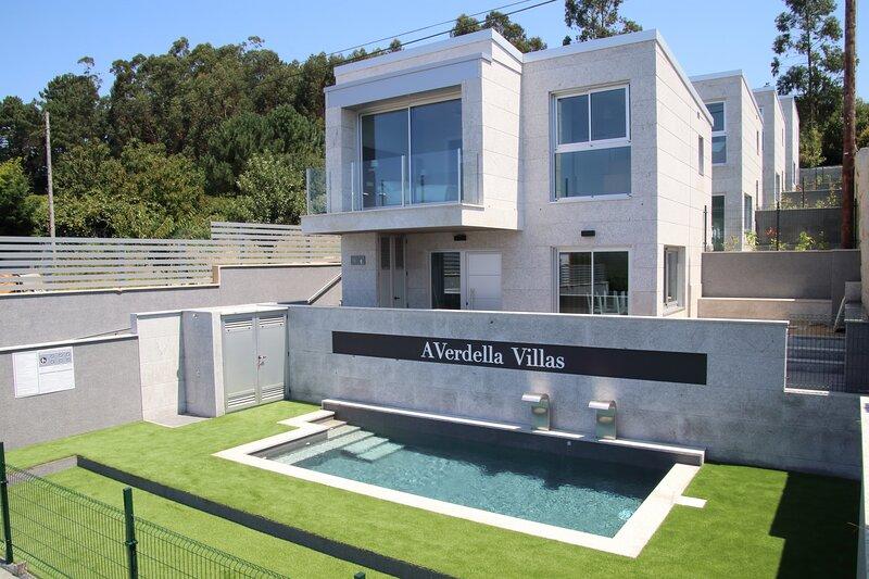 A Verdella Villa 1, alquiler de vacaciones en Outeiro
