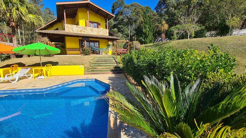 Natureza com Piscina em Condominio - Atibaia SP, alquiler de vacaciones en Piracaia