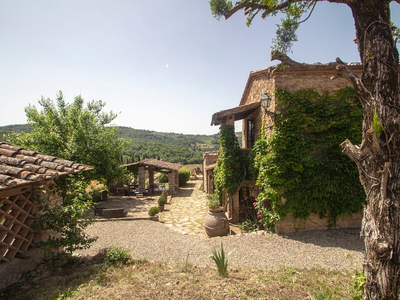 Podere Terreno, holiday rental in Volpaia