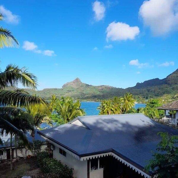Bora-Bora Vaitihei Lodge – semesterbostad i Bora Bora