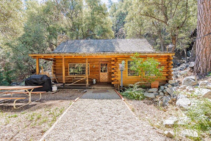 ENJOY - Log Cabin/Purple Beds/Pets+420 OK/Games, alquiler vacacional en Pine Mountain Club