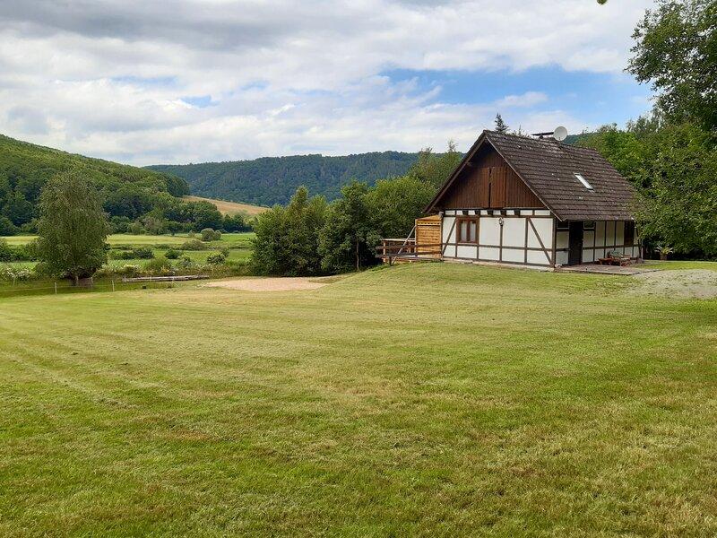 Haus am Fluss, location de vacances à Derental