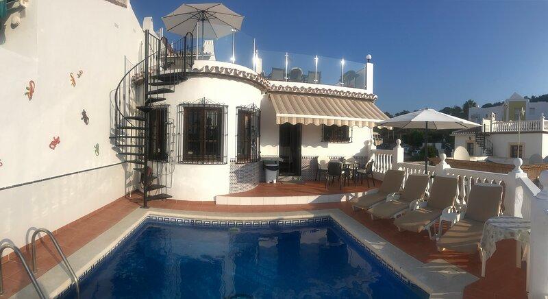 Casa Elena, 10 Punta Lara Nerja, casa vacanza a Nerja