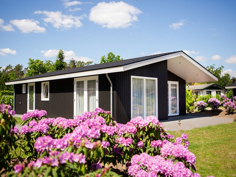Modern chalet on the water in the Brabant Kempen, holiday rental in Oirschot