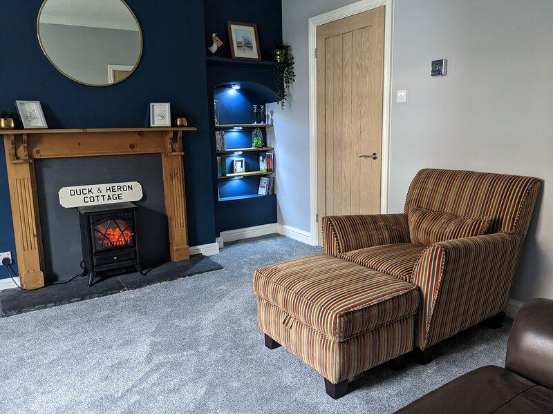 Duck & Heron Cottage, holiday rental in Bedlington