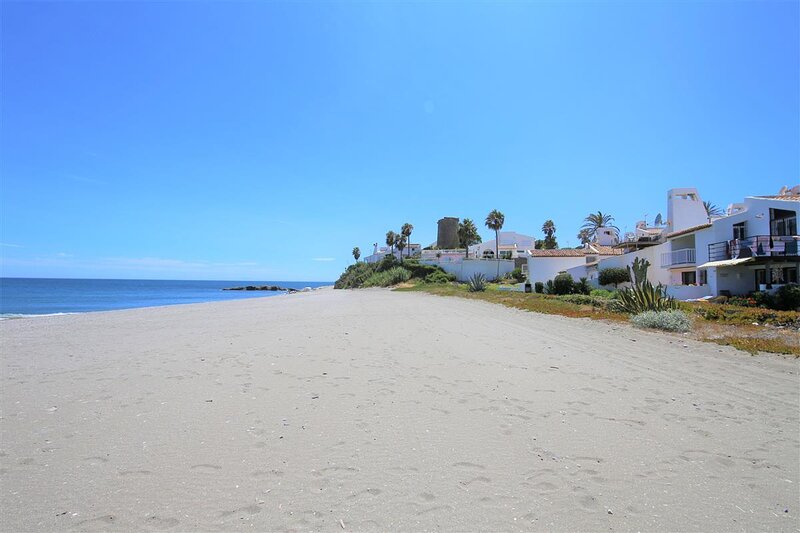 Fantastic sandy beach located just 50 m away from the property