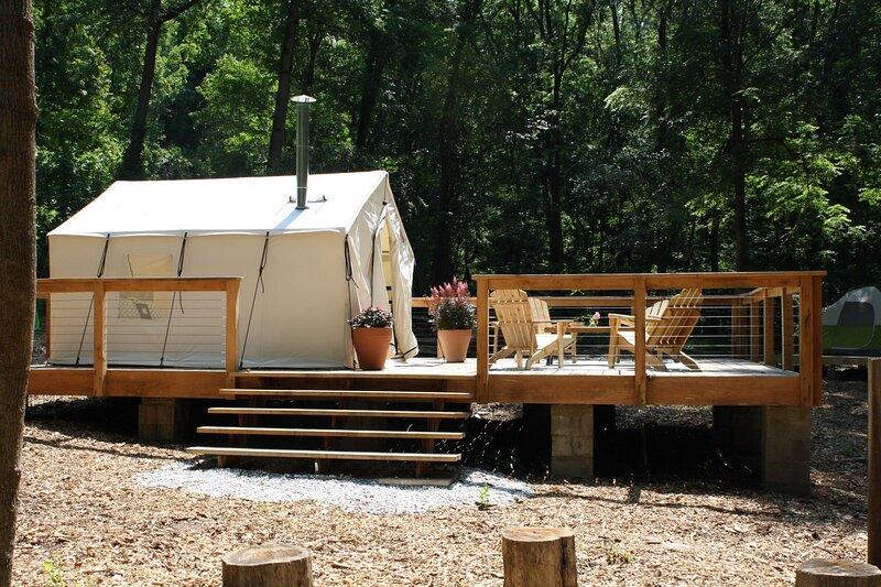 Tentrr Signature Site - Fern Creek at Liberty Lavender Farm, casa vacanza a Sykesville