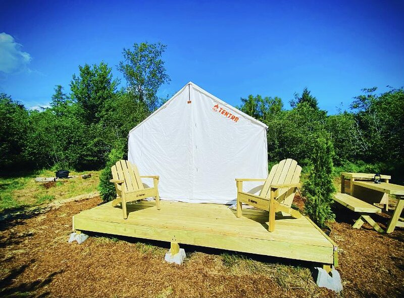 Tentrr Signature Site - NEW Private Bay Retreat Acadia Glamping, vacation rental in Lamoine