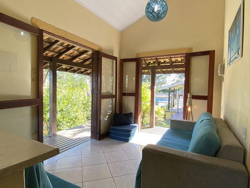 Casas no Rosa - Casa 2 climatizada, location de vacances à Barra de Ibiraquera