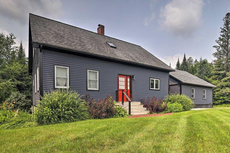 Darling Hill Home on Kingdom Trails-Near Burke Mtn, holiday rental in Greensboro