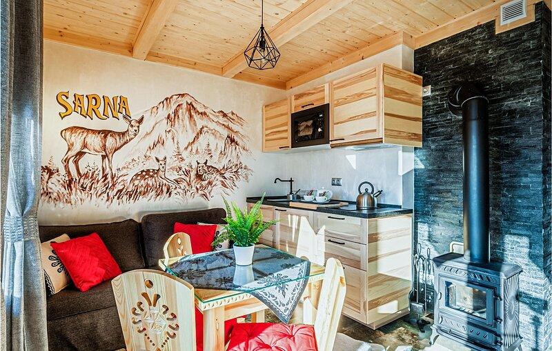 Stunning apartment in Koscielisko with Sauna, WiFi and 1 Bedrooms (PPG127), holiday rental in Oravsky Biely Potok