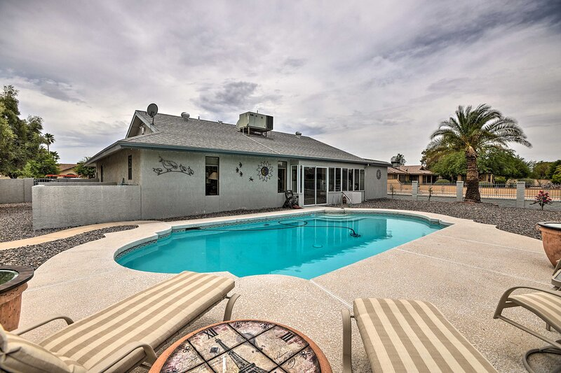 NEW! Inviting Sun City Dwelling Near Golf Courses!, vacation rental in Sun City West
