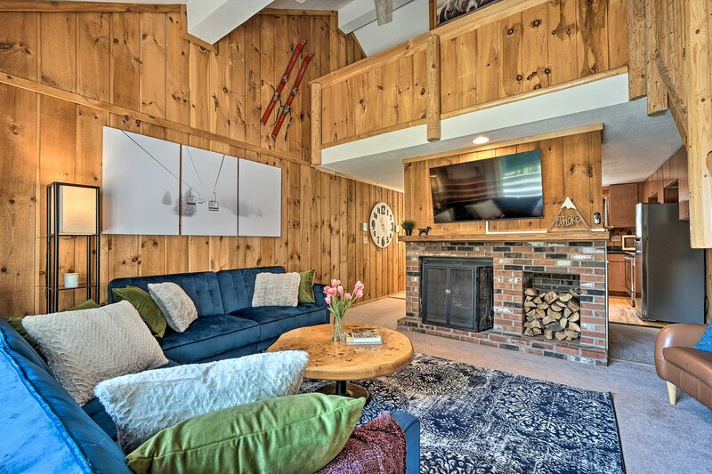 NEW! Relaxing Mountain Refuge - Ski, Hike & Golf!, holiday rental in South Newfane