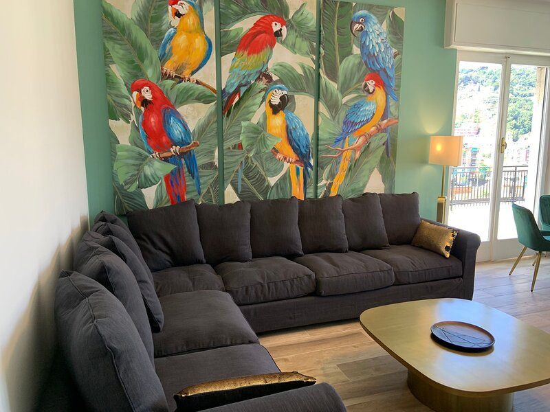 CASA EMY : penthouse-garage-Wi-Fi - AC ., holiday rental in Coreglia Ligure