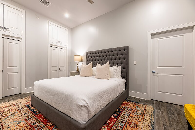 Large Master EnSuite Bedroom With King Bed and Smart TV
