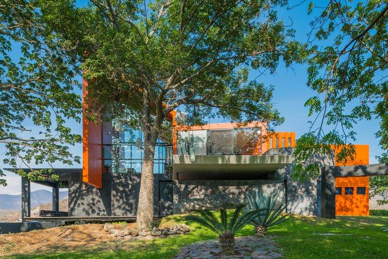 Casa Ave del Risco (Villa con río y cascada natural al interior ), casa vacanza a Comala