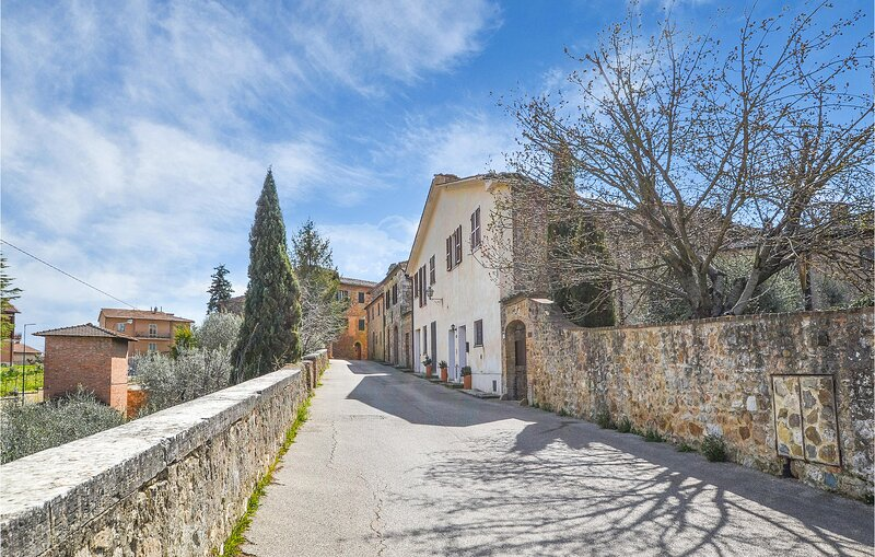 Amazing apartment in San Quirico d'Orcia with WiFi and 1 Bedrooms (ITS053), holiday rental in San Quirico d'Orcia