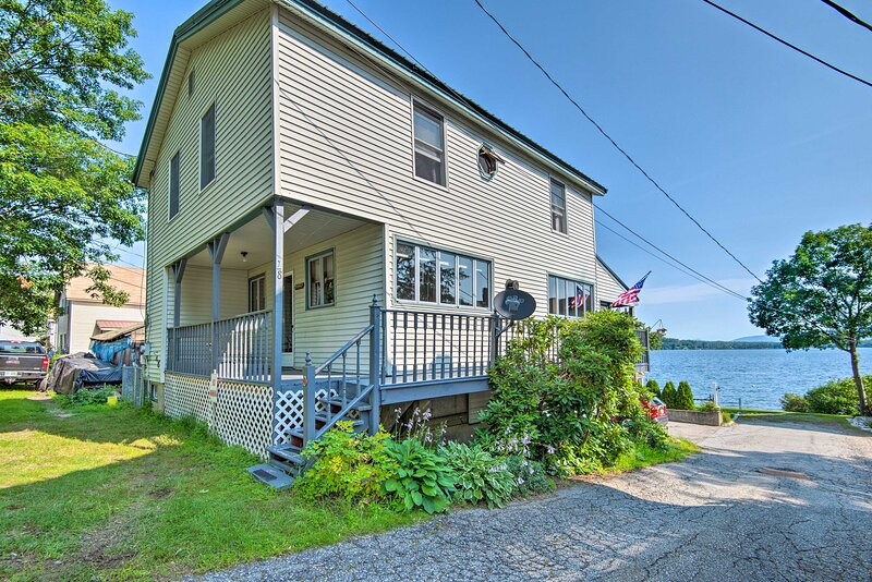 NEW! Historic Lakefront Home: Walk to Weirs Beach!, vacation rental in Weirs Beach