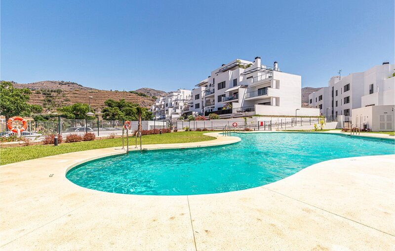 Stunning apartment in Almuñecar with Outdoor swimming pool and 2 Bedrooms (EAT0, holiday rental in Jete