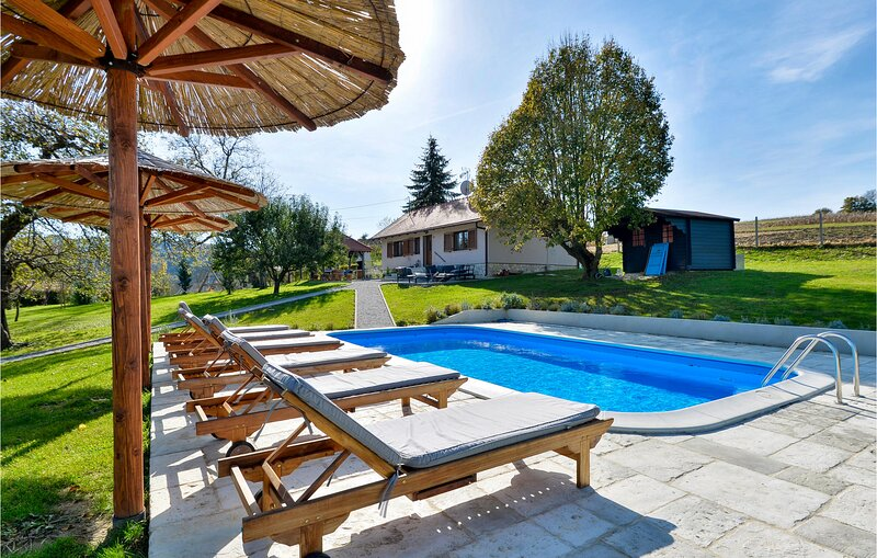 Amazing home in Donja Semnica with Outdoor swimming pool and 2 Bedrooms (CCC248), holiday rental in Bedekovcina
