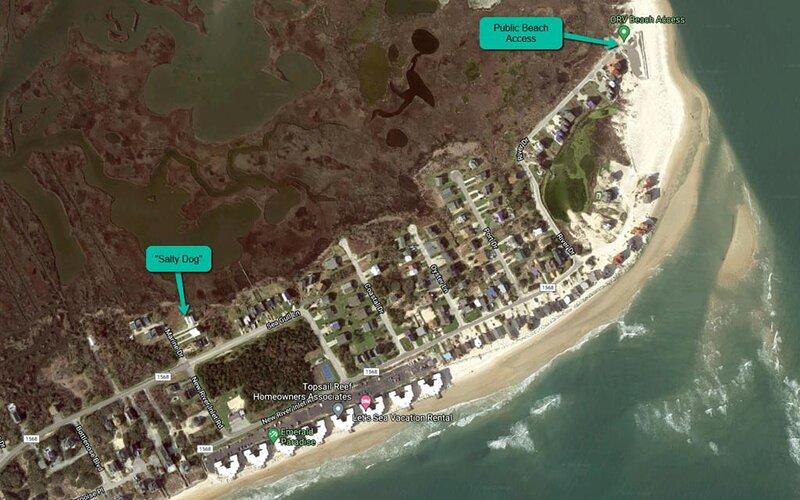 Public Beach Access Location