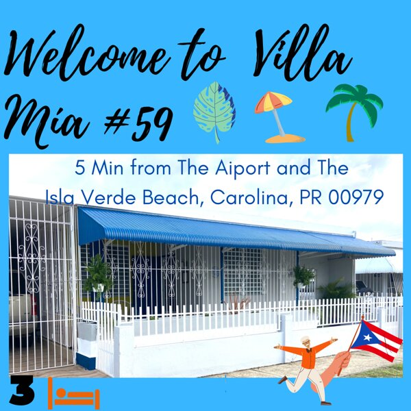 *SPACIOUS & COZY HOUSE / 5 Min From San Juan Airport  & 8 from Isla Verde Beach, holiday rental in Caguas