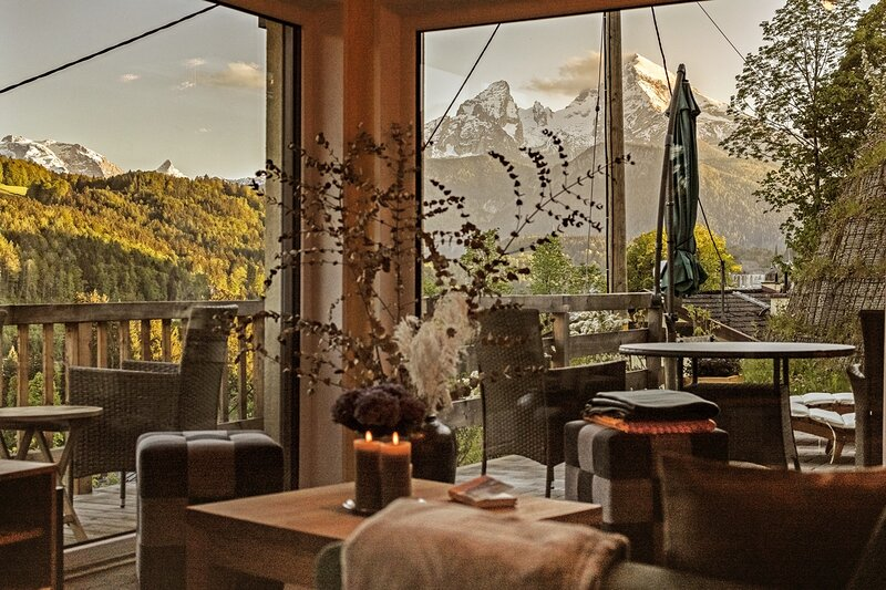 Jo's Nest - Berchtesgaden - 5 Sterne nach DTV Klassifizierung, holiday rental in Bayerisch Gmain
