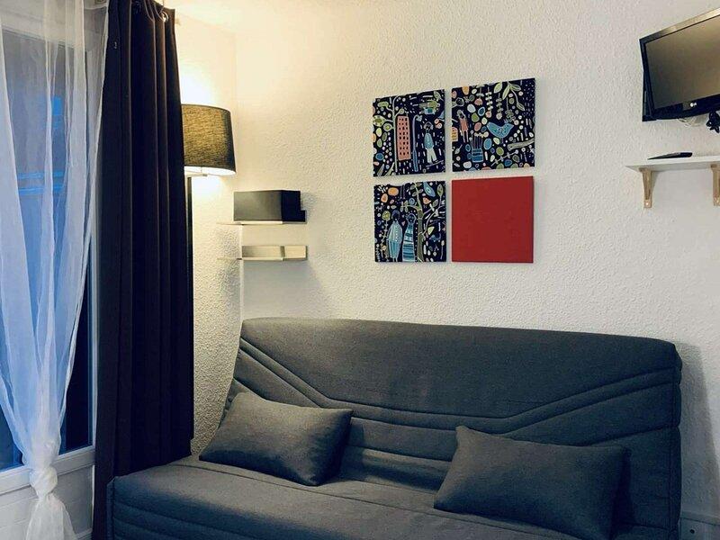 Joli studio tout confort pour 4 personnes à Risoul, aluguéis de temporada em Risoul