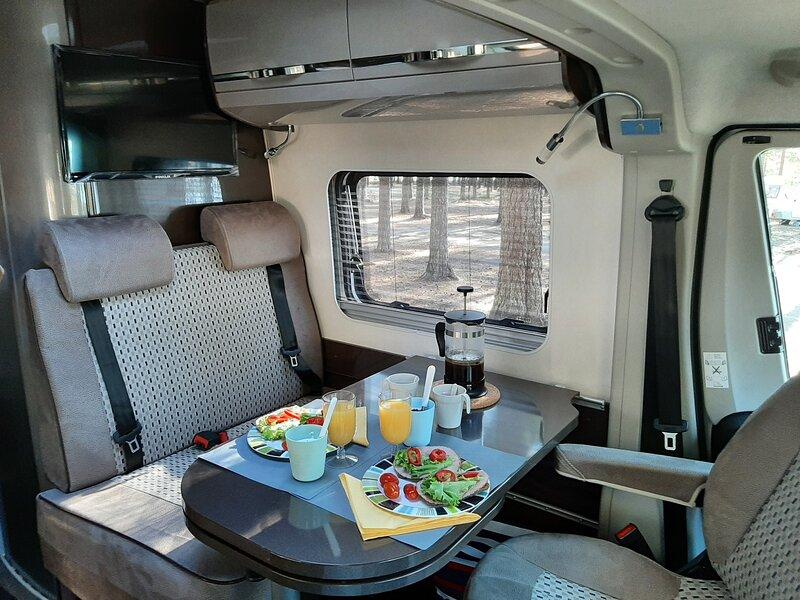 Saimaa Caravan camping car (RV), holiday rental in Imatra