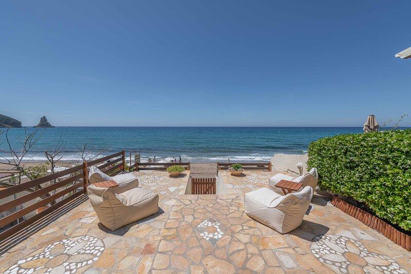 Agios Gordios Mariastella Seaview Studio 5, alquiler de vacaciones en Corfú