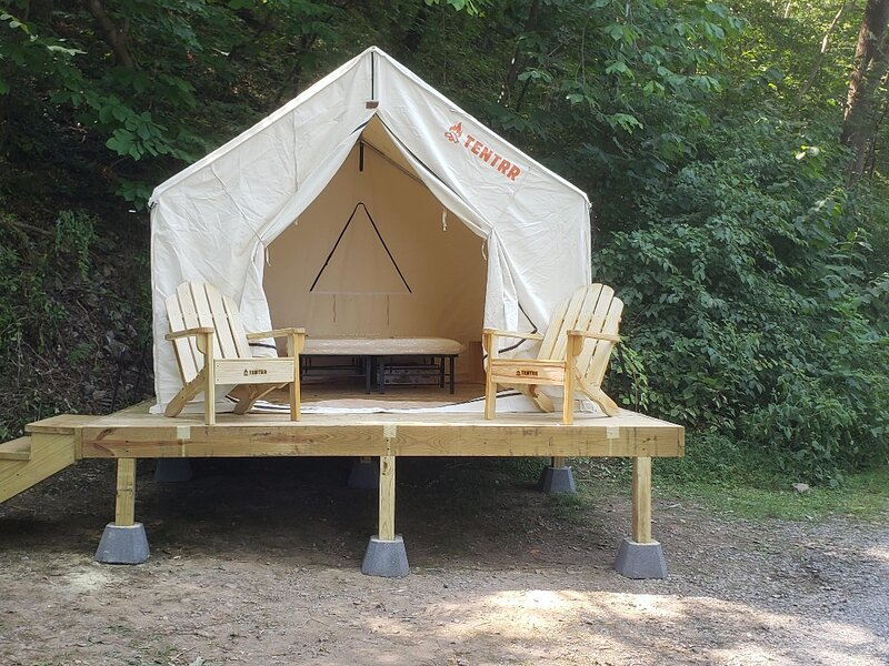 Tentrr Signature Site - Harpers Ferry - Potomac River View Campsite 1, holiday rental in Lovettsville