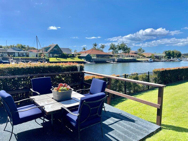 Bribie Island Canal Destination on Oleander Drive, holiday rental in Moreton Bay Region