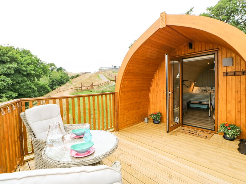 Grassholme Glamping Pod, Middleton-In-Teesdale, vacation rental in Middleton in Teesdale
