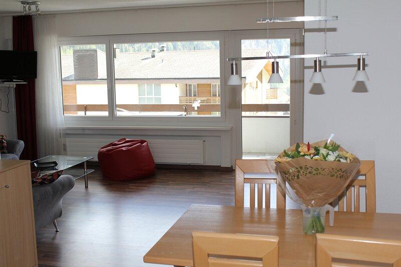 Haus Salute 206 : Appartement  à louer à Loèche-les-Bains, casa vacanza a Wiler