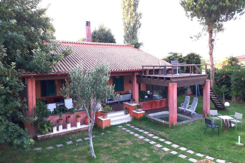Villa Revita Kourouta, holiday rental in Skafidia