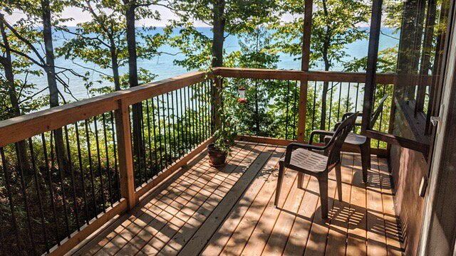 the HideAway - Right in Nature and super Private LakeView, holiday rental in Huron County