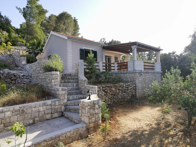 Vers - 35m from the sea: H(4+2) - Cove Picena (Vela Luka), holiday rental in Potirna