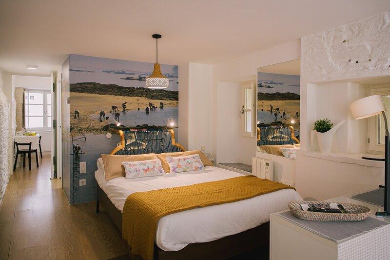 roomPEDRA cosy studio with terrace, alquiler de vacaciones en Santiago de Compostela