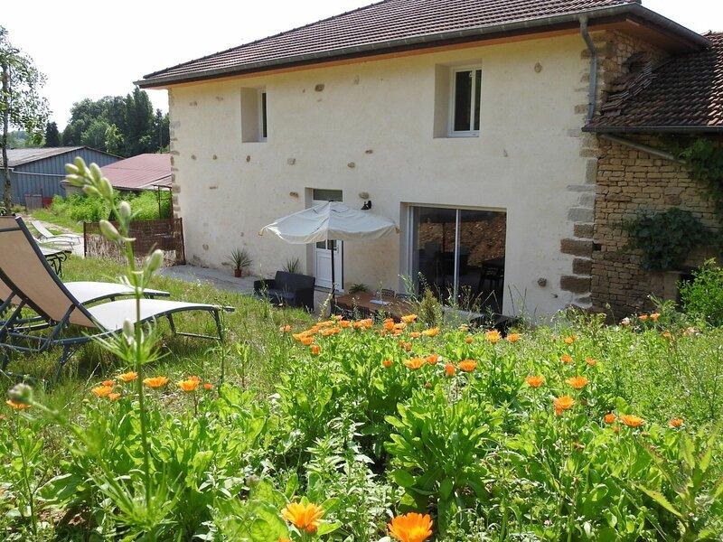 Location Gîte Dommartin-le-Franc, 4 pièces, 6 personnes, casa vacanza a Puellemontier