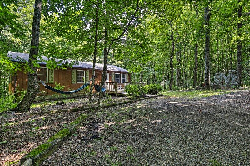 NEW! Cabin Hideaway w/ Fire Pit - 20 Mi to Floyd!, holiday rental in Stuart