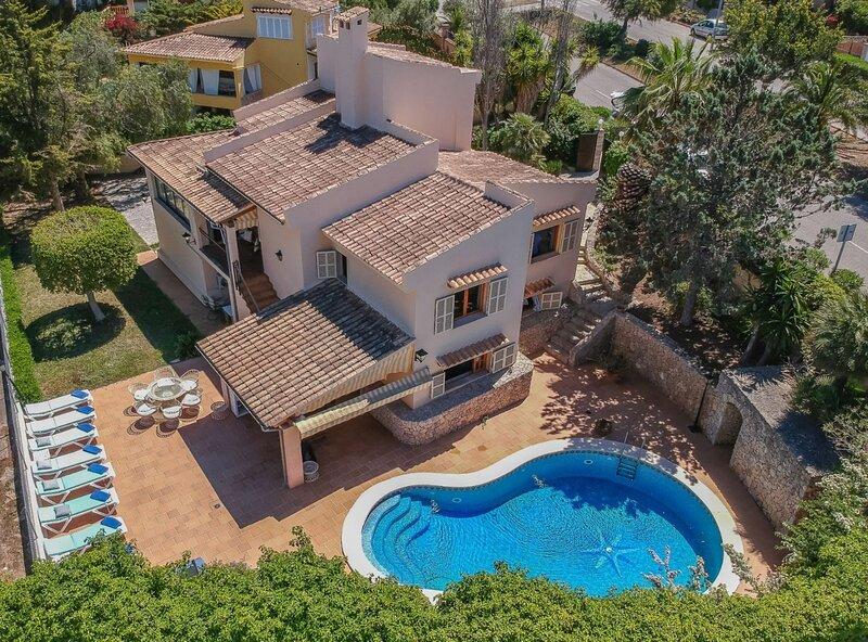 Casa Padrino, aire acondicionado, barbacoa, piscina privada, wifi, cerca de la, casa vacanza a Magaluf