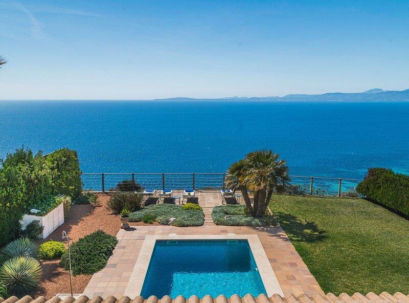Villa Paraíso Perdido, wifi, piscina, bbq, aire acondicionado, garaje, casa vacanza a Cala Blava