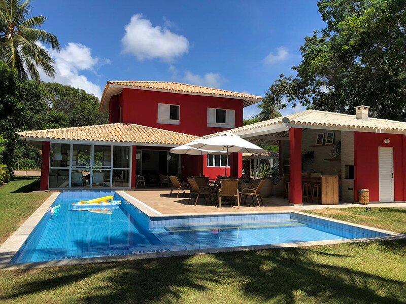 Excelente casa no Condomínio Quintas do Sauípe, alquiler de vacaciones en Mata de Sao Joao