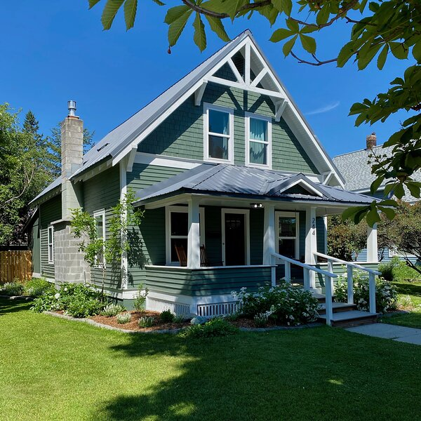 On the corner! Steps from downtown Whitefish!