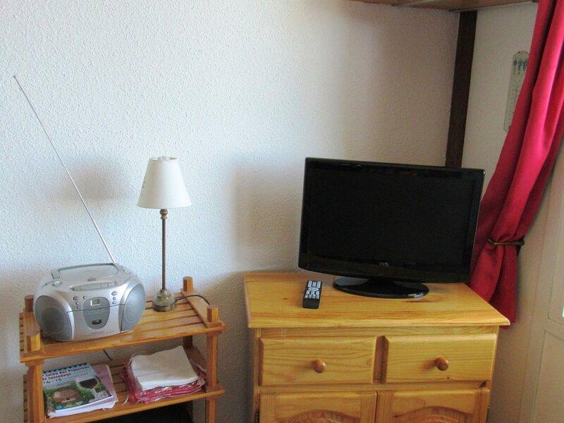 Studio 3/4 personnes tout en parquet, avec place de parking couvert et  vue, vacation rental in Uriage les Bains