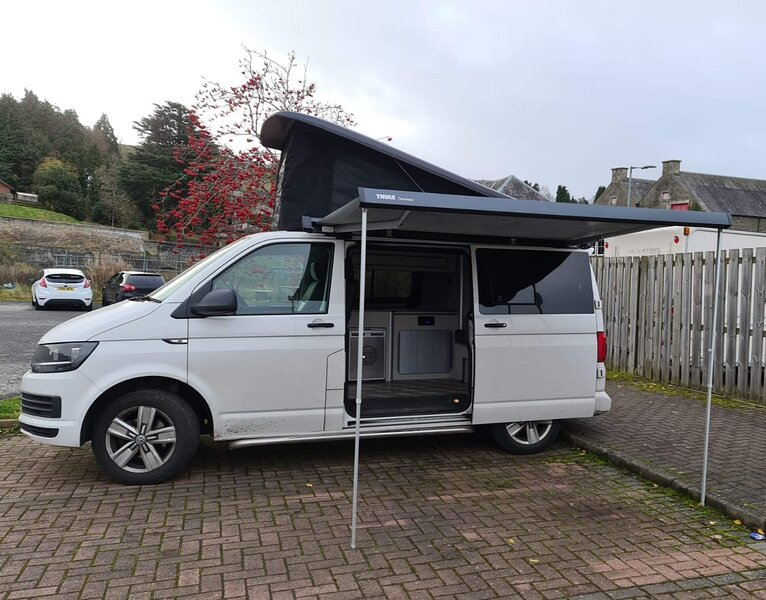 VW T6 Campervan Hire Scotland - Classic Camper Holidays - Whisky, holiday rental in Ettrick
